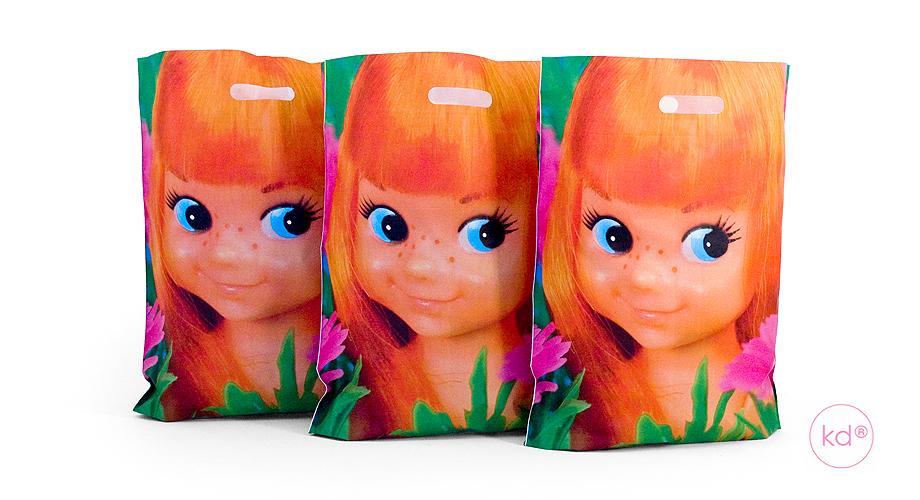 Plastic Tassen Ontwerpen : Plastic tassen popjes art anne by kadodesign